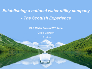 Craig Lawson,Water Forum 2013