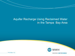 RRWPI_SWFWMD_Reclaimed_Water_for_Recharge_rev2