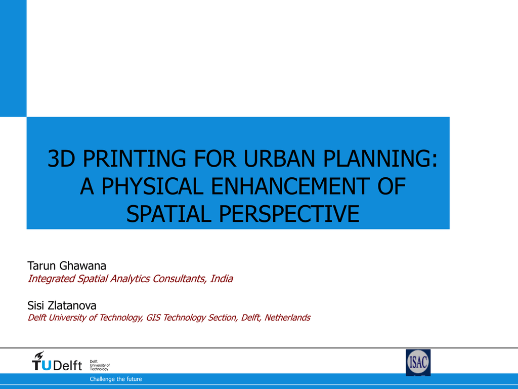 PPT    - Integrated Spatial Analytics