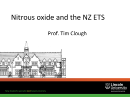 Tim Clough - New Zealand Institute of Agricultural & Horticultural