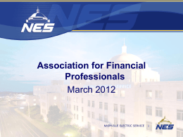 March 2012 Lunch Presentation Slides - NES - (AFP)