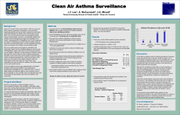 Research Poster - Clean Air Council