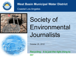 Wildermuth - Society of Environmental Journalists