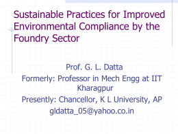 Sustainable Practices for Improved Environmental Compliance