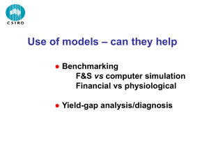 John Kirkegaard – Can models help with diagnostic agronomy?