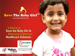 Save The Baby Girl & Active Tracker