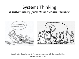 SD in Practice - a Systems Perspective on Change