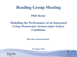 Improved Integrated Urban Wastewater System Operational Control