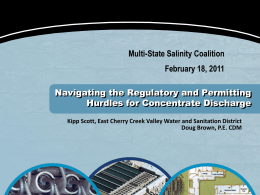 New Technologies for the Water Treatment Toolbox - Multi