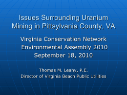 ppt. presentation - City of Virginia Beach
