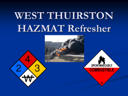 Awareness Refresher - West Thurston Training