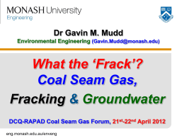 What is Coal Seam Gas