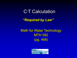 CT Calculation