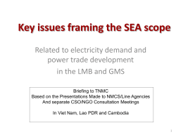 3-Key SEA framing issues -TNMC Presentation-LHaas