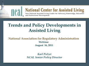Assisted Living National Update