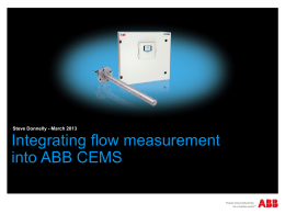 ABB Stack Flow Master - The Air Quality and Emissions Show 2015
