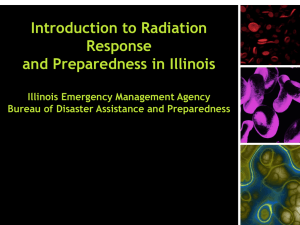 Introduction to Radiation Response & Preparedness