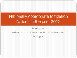 Nationally Appropriate Mitigation Actions - ACP