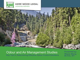 Odour and Air Management Studies