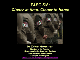 Fascist Movements - The Evergreen State College