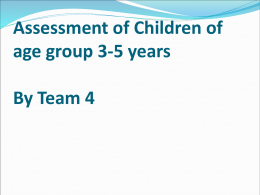 Assessment of Children (3