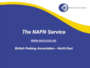 Header / Title - British Parking Association