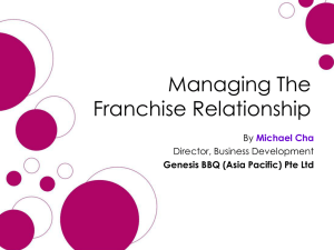 Building Strong Franchise Relationships Across Borders