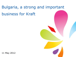 2010 Kraft Foods Overview Presentation