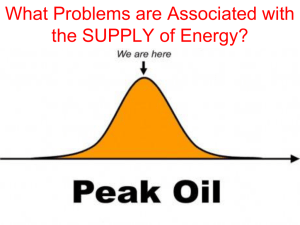 What Problems are Associated with the SUPPLY of