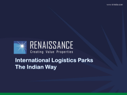 Contents - CII Institute of Logistics