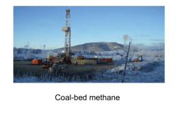 Coal bed methane t