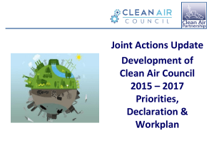 Joint Actions Presentation