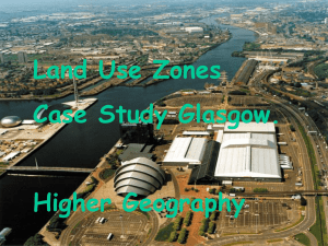Landuse Glasgow - Clydebank High School
