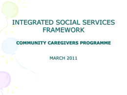 Integrated Community Care-Givers on PCA - The KwaZulu