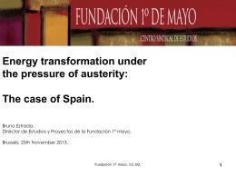 The case of Spain (ppt - 296.50 Kb)