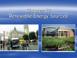 "Chp. 18: ""Renewable Energy Sources"""