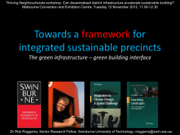 green building interface