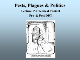Lecture 15 - Chemical Control