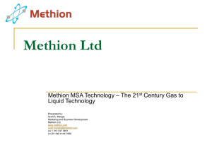 Methion Ltd
