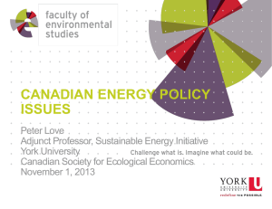 climate change - Canadian Society for Ecological Economics