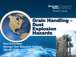 Grain Handling Safety OSHA - 29 CFR 1910.272