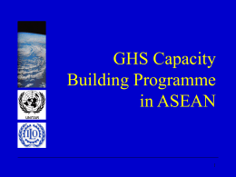 National GHS Implementation Strategy