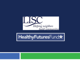 Healthy Futures Fund