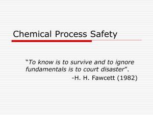 Chemical-Process-Safety - Bangladesh University of