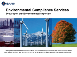 Environmental Compliance Services ()