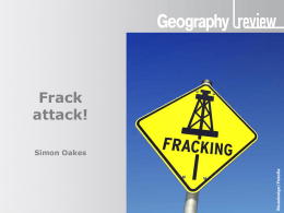 Frack attack! - Hodder Education