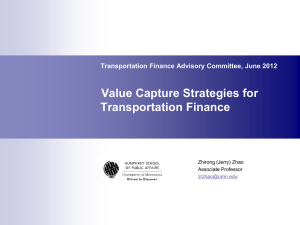 Value capture - Minnesota Department of Transportation