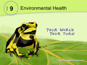 9-2 Biological And Social Hazards PowerPoint