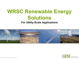WRSC Renewable Energy Solutions