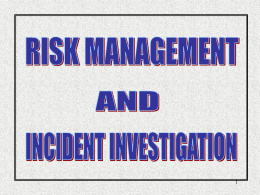 Risk Management Training-130804